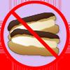 No cream cakes